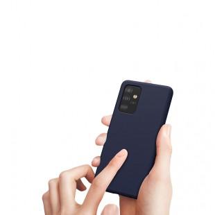 کاور سیلیکون مدل Silicon Org موبایل سامسونگ Galaxy A72 5G
