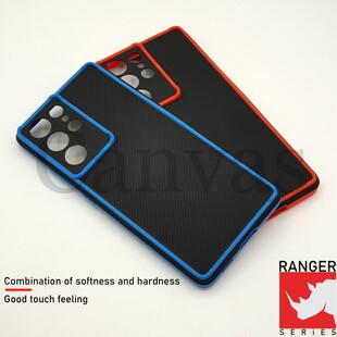 کاور کانواس مدل RANGER مناسب برای گوشی موبایل سامسونگ Galaxy S21 Ultra 5G