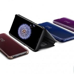 کیف کلاسوری مدل Clear View مناسب برای گوشی موبایل سامسونگ Galaxy A31