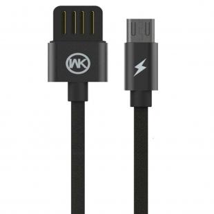 کابل تبدیل USB به MicroUSB دبلیو کی مدل WDC-055m طول 1 متر