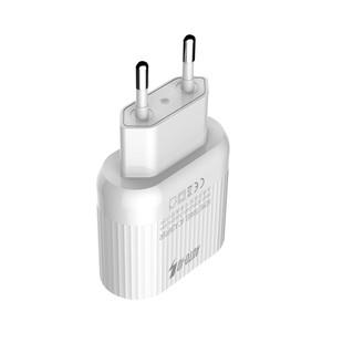 شارژر دیواری چند پورت Emy My-A202Q Charger + Type-C Cable