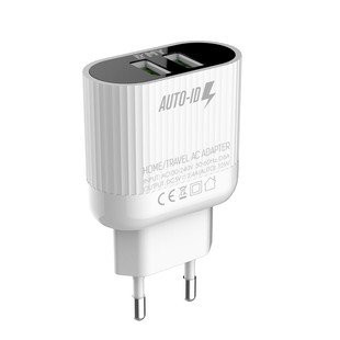 شارژر دیواری چند پورت Emy My-A202Q Charger + Micro Cable