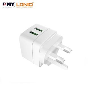 شارژر دیواری چند پورت Emy My-A200 + Lightning Cable