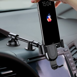 eng_pl_Baseus-Heukji-Wireless-Charger-Gravity-Car-Mount-Phone-Bracket-Holder-Qi-Charger-with-Flexible-Arm-silver-WXZT-0S-38935_8