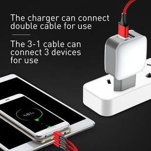 Baseus-EU-plug-dual-usb-charger-3-in-1-cable-for-iPhone-Android-fast-charging-universal