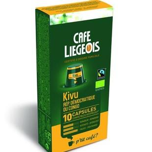 کپسول قهوه شیائومی مدل Liegeios Kivu R.D.Congo بسته 10 عددی