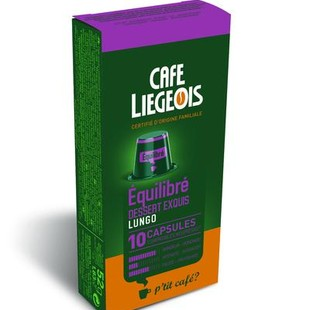 کپسول قهوه شیائومی مدل Liegeios Equilibre Lungo بسته 10 عددی