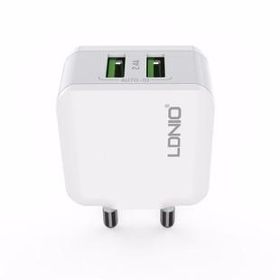 LDNIO-2-USB-Port-EU-Plug-5V-2.4A-Travel-Charger