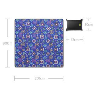 Xiaomi-Mijia-Hanfeng-Camping-Mat-Pad-Picnic-Mat-Pad-Blanket-Baby-Climb-Plaid-Blanket-Waterproof-Moistureproof (5)