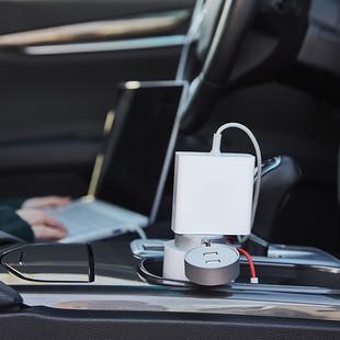 XIAOMI-MIJIA-Portable-Car-Socket-USB-Car-Charger-Power-Inverter-Pure-Sine-Wave-DC-12V-220V (3)