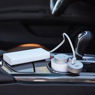 XIAOMI-MIJIA-Portable-Car-Socket-USB-Car-Charger-Power-Inverter-Pure-Sine-Wave-DC-12V-220V (5)