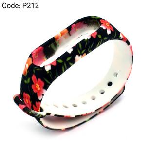 بند طرح دار دستبند سلامتی شیائومی کد P212