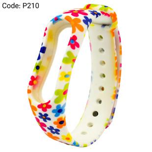 بند طرح دار دستبند سلامتی شیائومی کد P210