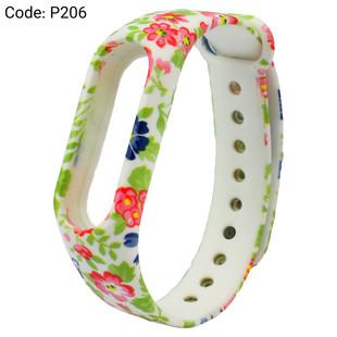 بند طرح دار دستبند سلامتی شیائومی کد P206