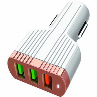 شارژر فندکی LDNIO C702Q + Type-C Cable