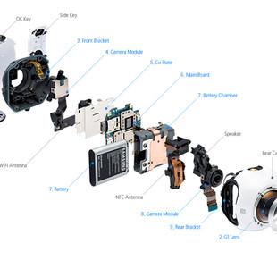 دوربین ورزشی سامسونگ Gear 360