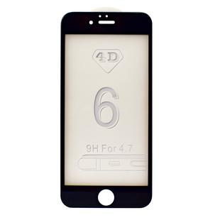 محافظ صفحه شیشه ای 4 بعدی iPhone 6S Full Glue 4D Glass