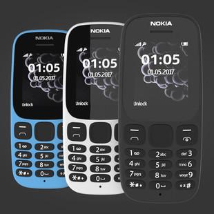 nokia-105-2017-white-blue-black-3d-model-max-obj-3ds-fbx