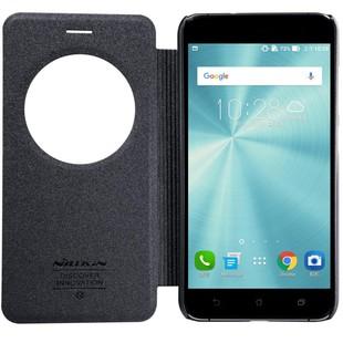 کیف محافظ نیلکین Nillkin Sparkle Leather Case Asus Zenfone 3 Ze520kl