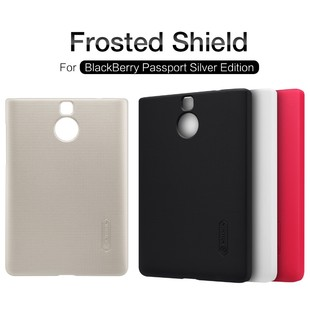 Nillkin-Super-Frosted-Shield-Case-for-Blackberry-Passport-Silver-Edition-Back-Cover-Anti-Slip-Protective-Shell