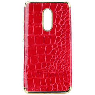 قاب محافظ PEC Crocodile Chrome leather Case Xiaomi Note 4X/Note 4