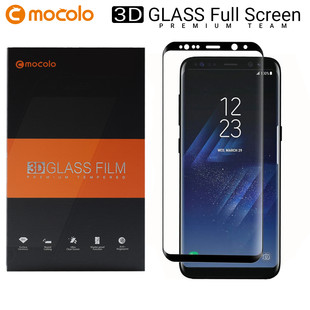 محافظ صفحه گلس فول فریم موکولو Mocolo Full Frame 3D Glass Samsung Galaxy S8