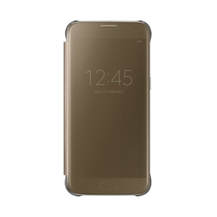 کیف محافظ اصلی Samsung Galaxy S7 Clear View Flip Cover