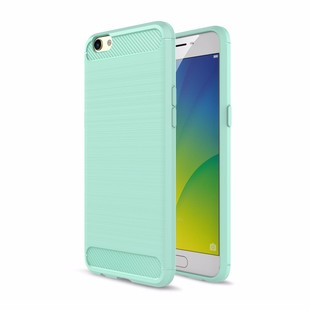 100pcs-lot-For-OPPO-R9S-Plus-F1-Plus-Carbon-Fiber-Brushed-Rugged-Armor-Full-Protective-TPU