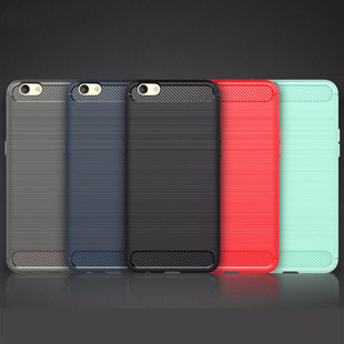 30pcs-lot-For-OPPO-F1-Plus-Carbon-Fiber-Brushed-Rugged-Impact-Hybrid-Heavy-Duty-Armor-TPU