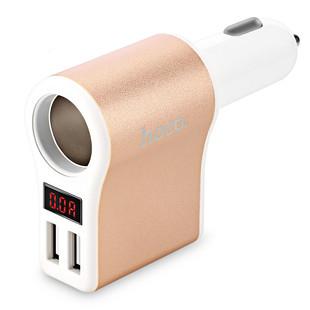 شارژر فندکی هوکو Hoco Car Charger Z10 Dual USB