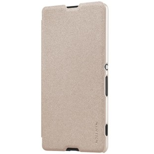 کیف محافظ نیلکین Nillkin Sparkle Leather Case Sony Xperia M5
