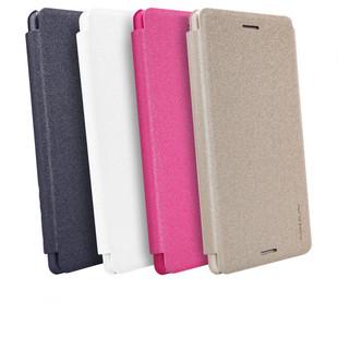 کیف محافظ نیلکین Nillkin Sparkle Leather Case Sony Xperia X