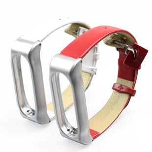 بند چرمی دستبند سلامتی Xiaomi Mi Jaos PU Mi Band 2 Strap کد PU1