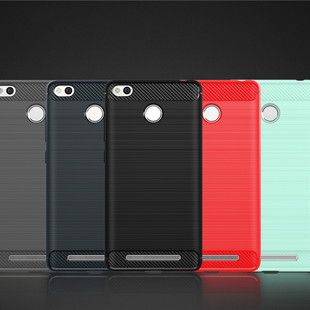 For-Redmi-3s-Rugged-Armor-High-Grade-Carbon-Fiber-Texture-Brushed-Soft-TPU-case-Back-cover (1)