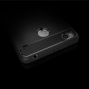 For-Redmi-3s-Rugged-Armor-High-Grade-Carbon-Fiber-Texture-Brushed-Soft-TPU-case-Back-cover