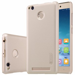 Free-Shipping-Nillkin-frosted-case-for-xiaomi-redmi-3-pro-5-hard-plastic-back-cover-with
