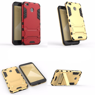 Xiaomi-Redmi-4X-Case-Iron-Man-Holster-Armor-Case-Hybrid-Silicone-Rubber-Hard-Back-Impact-Phone