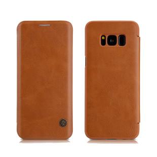کیف محافظ نیلکین Nillkin Qin Leather Case Samsung Galaxy S8 Plus