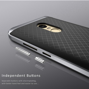 100-Original-IPAKY-For-Xiaomi-Redmi-Note-4X-Case-TPU-PC-Frame-Hybrid-Silicone-Cover-for
