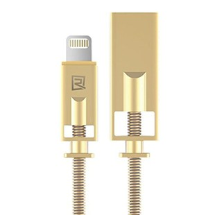 royal-data-cable-rc-056i-remax-cable-charge-lightning-usb-cable-length-1000mm-color-gold