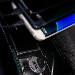 شارژر فندکی دبلیو کی مدل WP-C13 همراه با کابل Lightning/Type-C/Micro