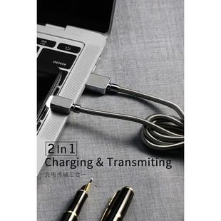 کابل تبدیل USB به Micro دبلیو کی مدل WDC-065m طول 1 متر