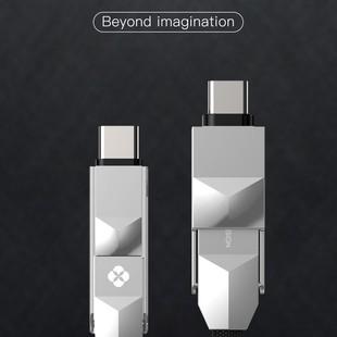 کابل تبدیل USB/USB-C به MicroUSB/USB-C/لایتنینگ توتو مدل Godzila LIN0701 طول 1.2 م