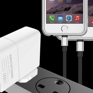 شارژر دیواری چند پورت Emy My-A501Q Charger + Type-C Cable