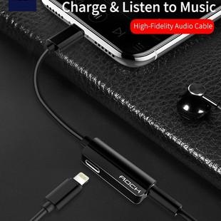 کابل مبدل Rock Metal Lightning-Audio Cable RCB0588
