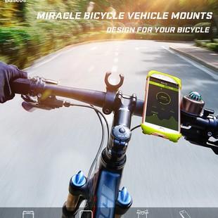 نگهدارنده موبایل Baseus مدل miracle bicycle vehicle مخصوص دوچرخه
