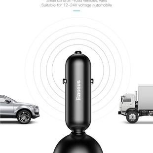 شارژر فندکی Baseus مدل shake-head digital display car charger
