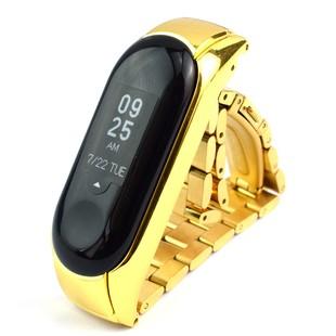 بند قفل دار فلزی دستبند سلامتی شیائومی Mi band 3 مدل M330