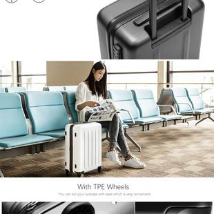 چمدان شیائومی سایز 28 اینچ مدل 90 Points