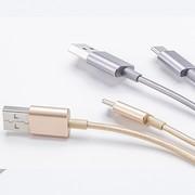 کابل تبدیل USB به USB-C شیائومی مدل Metal SJV4085TY طول 1 متر